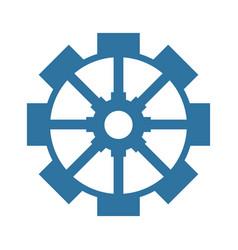 gear machinery symbol vector image
