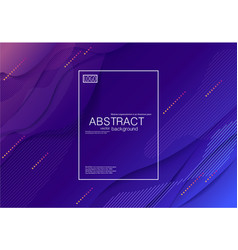abstract modern background brochures cover a4 vector image