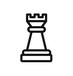 chess piece icon vector image