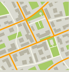 city map pattern vector image