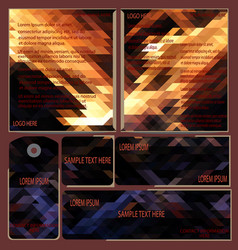 Design brochure template cover design business c vector
