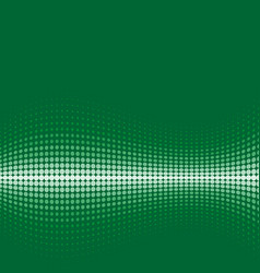 halftone background green vector image