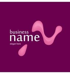 Letter N logo design vector image