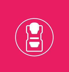 Mammography machine icon vector
