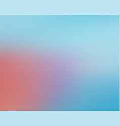 modern abstract blure background soft blue red vector image