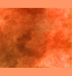 Orange yellow and red watercolor background vector