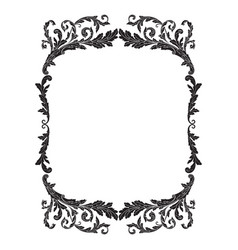Ornament frame border vector