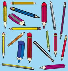 pencil comics vector image