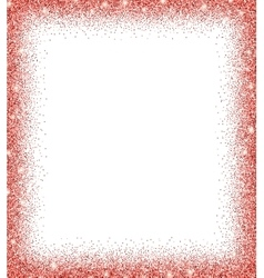 red glitter background vector image