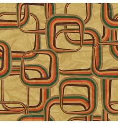 Retro seamless pattern background vector image vector image