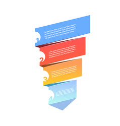 Sales funnel with steps stages business vector
