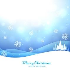 seasonal christmas greeting vector image