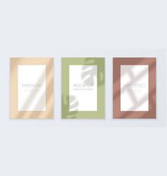 window light banners set vector image
