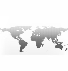world map in dots little lines with gradient vector image