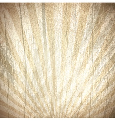 Vintage wooden background vector image vector image