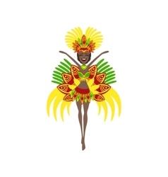 Brazilian Carnival Costume vector