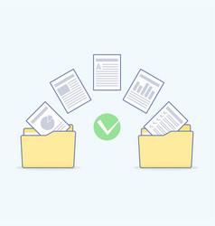 Files transfer copy files data exchange backup vector