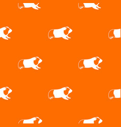 Hamster pattern seamless vector