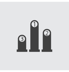 Ranking icon vector image