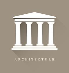 Architecture symbol vector image vector image