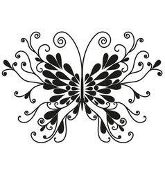 butterfly2 vector image