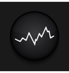 app circle stock black icon Eps10 vector image
