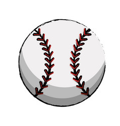 baseball sport ball image vector image