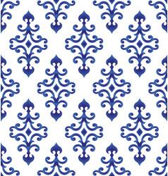 porcelain pattern design vector image