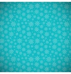 Retro Snowflakes Background vector image