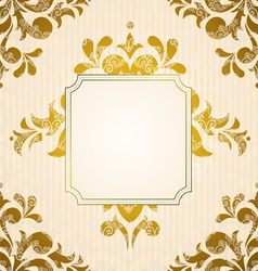 Vintage tapestry background vector image