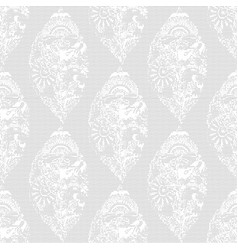 black mesh in the form of lace vector image