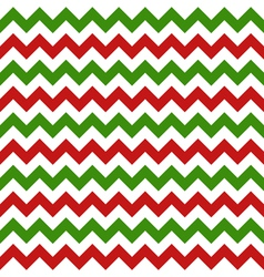 christmas chevron seamless pattern vector image
