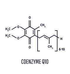 Coenzyme q10 ubiquinone ubidecarenone coq10 vector