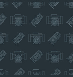 crypto currency mining seamless pattern vector image