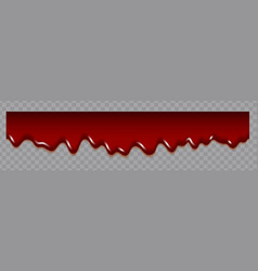 dripping blood seamless repeatable blood vector image