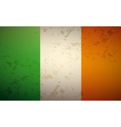 Flag ireland vector