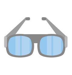 Glasses eye protect modern icon vector