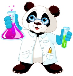 Panda Scientist vector