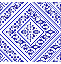 Royal tile pattern vector