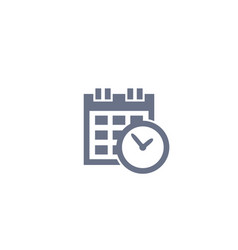 Schedule appointment icon vector