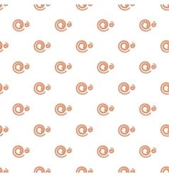 Spiral pattern cartoon style vector