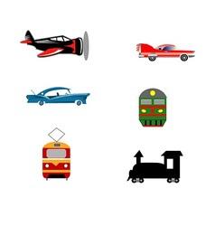 Transport ikons vector