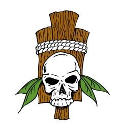 TribalSkull vector