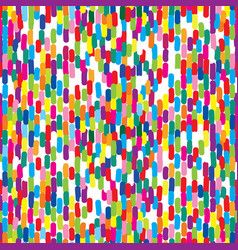 abstract spot linear seamless pattern bloth vector image vector image