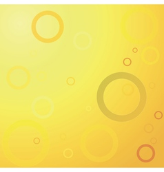Abstract yellow background vector image vector image