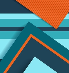 Material design abstract background flat shapes vector image