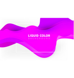 abstract fluid creative templates with dynamic vector image