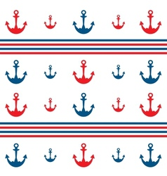 Background with anchors vector