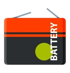 Batterie icon isolated vector image