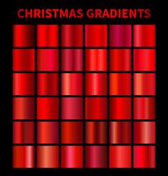 christmas gradients vector image